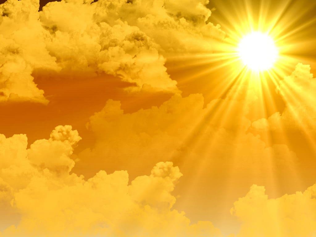 champs magnétique du soleil