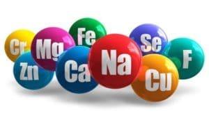 Minerals in water