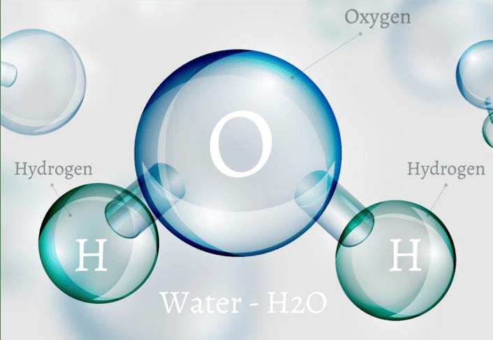 Molécule d'eau - water molecule