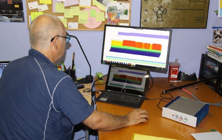 Le Bioscope observe une biocompatibilité fréquentielle nettement plus grande de l'eau dynamisée