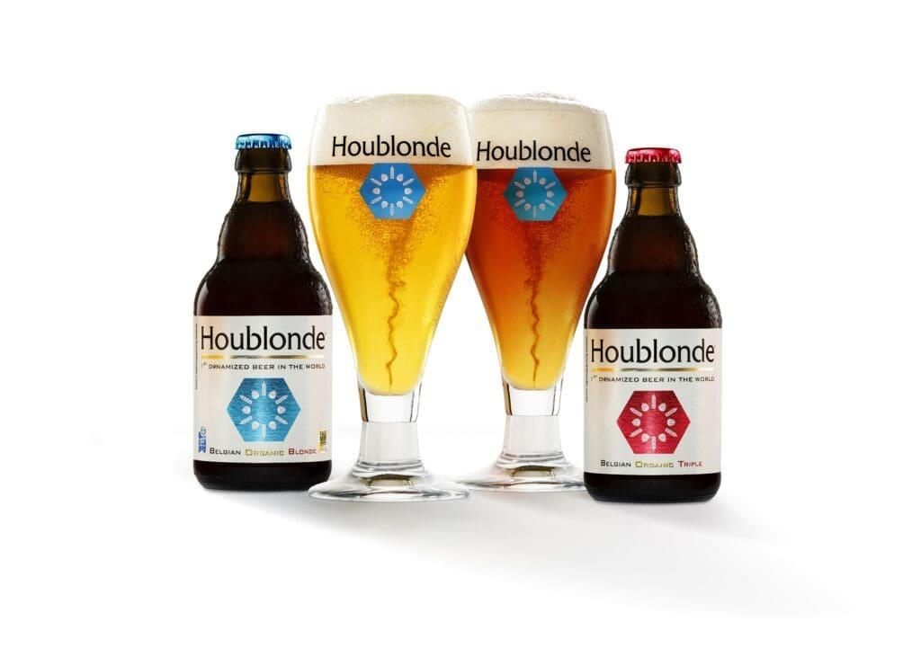 Houblonde 1ère bière bio et dynamisée au monde