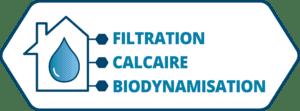 Filtration calcaire dynamisation